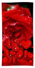 Bleeding Love Bath Towel