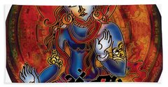 Blessing Shiva Hand Towel
