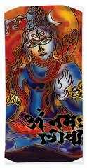 Blessing Shiva Bath Towel