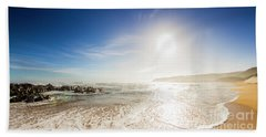 Blissful Ocean Panorama Bath Towel