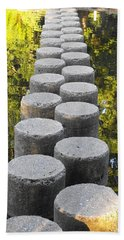 Blissful Path Of Tranquility Hand Towel