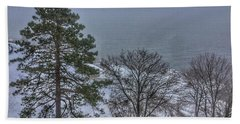 Blizzard Stella On Casco Bay Hand Towel