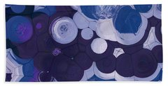 Bath Towel featuring the digital art Blobs - 11c2b by Variance Collections