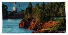 Blockhouse Point Lighthouse Hand Towel
