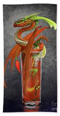 Bloody Mary Dragon Hand Towel