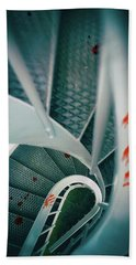 Hand Towel featuring the photograph Bloody Stairway by Carlos Caetano