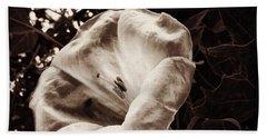 Bloom In Sepia Hand Towel