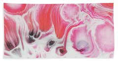 Bath Towel featuring the painting Bloom by Nikki Marie Smith
