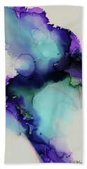 Bloom Bath Towel by Tracy Male