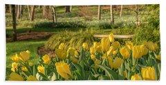 Bloomin Tulips Bath Towel