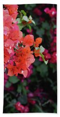 Blooming Bougainvillea- Photography By Linda Woods Bath Towel