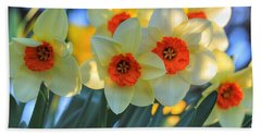 Blooming Daffodils Hand Towel