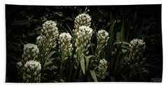 Bath Towel featuring the photograph Blooming In The Shadows by Marco Oliveira