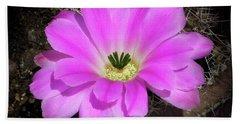 Blooming Pink Hand Towel