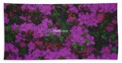 Blooms Hand Towel