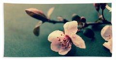 Blossom Bath Towel by Caitlyn Grasso