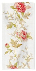 Bath Towel featuring the mixed media Blossom Series No.2 by Writermore Arts