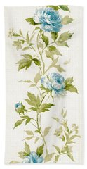 Bath Towel featuring the mixed media Blossom Series No.3 by Writermore Arts