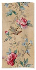 Bath Towel featuring the mixed media Blossom Series No.4 by Writermore Arts