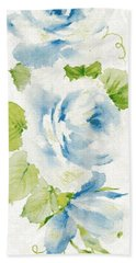 Bath Towel featuring the mixed media Blossom Series No.7 by Writermore Arts