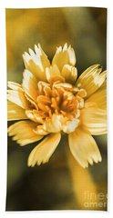 Blossoming Dandelion Flower Bath Towel