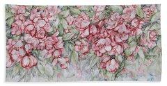 Blossoms Bath Towel by Kim Tran