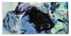Blowing In The Wind Hand Towel by Lyric Lucas