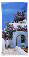 Blu Di Grecia Hand Towel