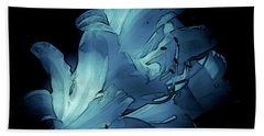 Blue Abstract No. 1 Bath Towel