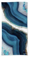 Blue Agate Hand Towel