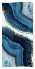 Blue Agate Bath Towel