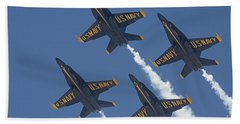 Blue Angels Blue Skies Bath Towel
