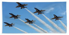 Blue Angels Delta Bath Towel
