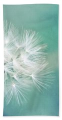 Hand Towel featuring the photograph Blue Awakening by Trish Mistric