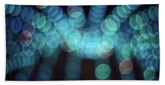 Blue Boogie Hand Towel by Laurie Stewart