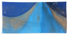 Blue Bow Bath Towel