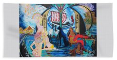 Five Celestial Celebrations                                        Blaa Kattproduksjoner  -  Bath Towel