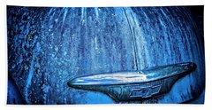 Blue Chevy Bath Towel