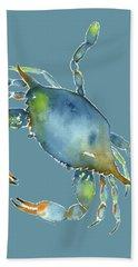 Blue Crab Hand Towel