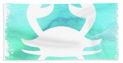 Blue Crab Bath Towel