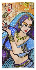 Blue Devi Bath Towel