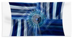 Blue Dimension  Hand Towel