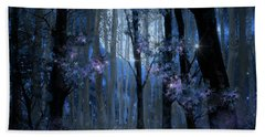 Blue Forest Hand Towel