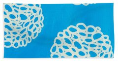 Blue Garden Bloom Bath Towel