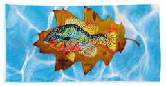 Blue Gill Hand Towel by Ralph Root