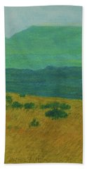 Blue-green Dakota Dream, 1 Bath Towel