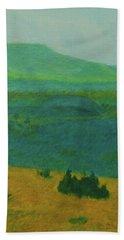 Blue-green Dakota Dream, 2 Hand Towel