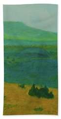 Blue-green Dakota Dream, 2 Bath Towel