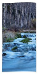 Blue Hour Streaming Hand Towel by James BO Insogna