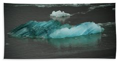 Blue Iceberg Bath Towel